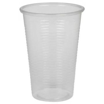 Skaidrios vienkartinės stiklinės, 200ml, 100vnt