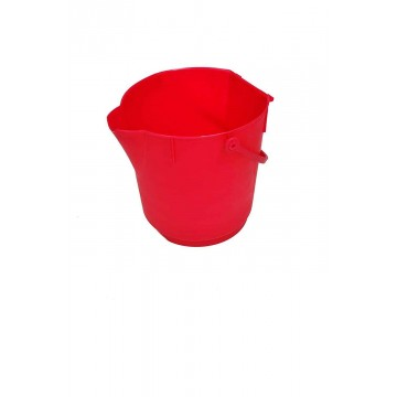 Hillbrush Ultra Hygienic Bucket - Red 12 Ltr