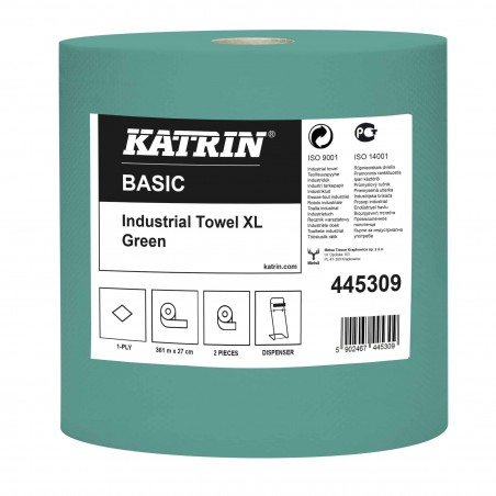Katrin Basic Industrial Towel XL 361 Green