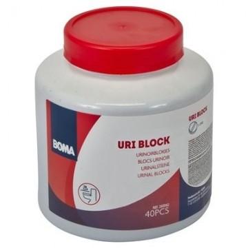 Uri Block 25 g - 40 vnt