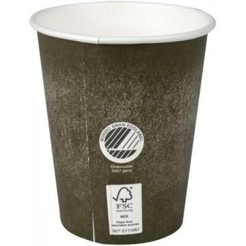 Ekologiški The Swan Hot Cup 240ml, dvisieniai 50vnt