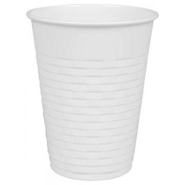 Vending cup, balti, 200ml, 100vnt