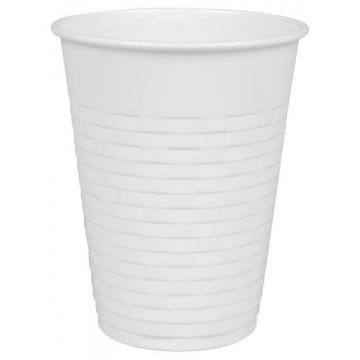 Vending cup, balti, 200ml, 100vnt