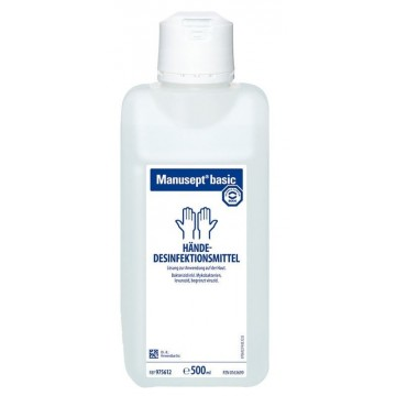 Manusept Basic Ethanol-based hand disinfectant 500ml