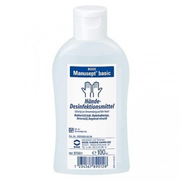 Manusept Basic Ethanol-based hand disinfectant 100ml