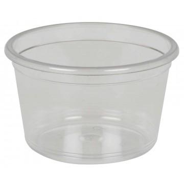 Serviravimo puodelis, 2,8cm, Ø4,65cm, 30ml, skaidrus, PS 100 vnt