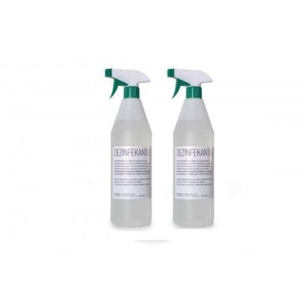 Rankų dezinfekcijos priemonė 2vnt. x 1L