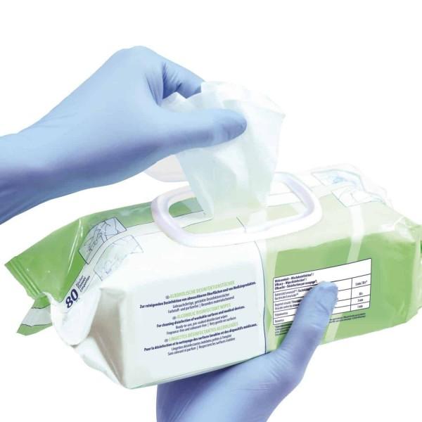 Bacillol30  alkoholinės  dezinfekcinės servetėlės