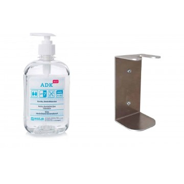 Wall holder and ADK-612 Hand sanitizer 500ml