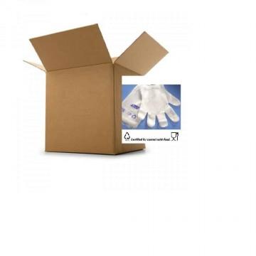 100 Disposable Plastic Gloves Polythene