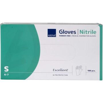 Nitrilinės pirštinės, powder free, S, N100