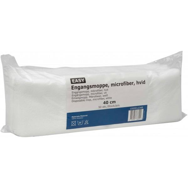 Vienkartinės šluostės grindims EASY Velcro, 40cm, 50vnt
