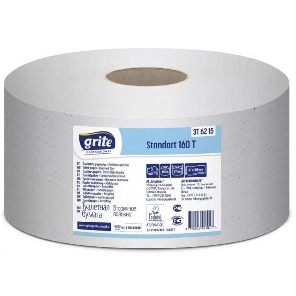 Tualetinis popierius Gritė Standart 160T