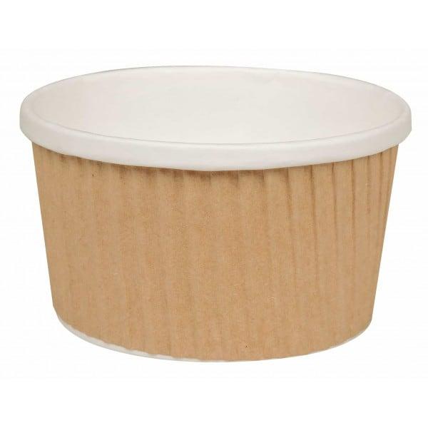 Uni-cup rudi puodeliai, 240 ml, 8 oz, 25 vnt