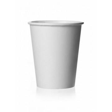 Puodeliai kavai dvigubi, baltos spalvos (24cl, 50 vnt.)