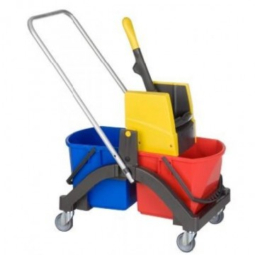 Wet mop trolley AQUVA