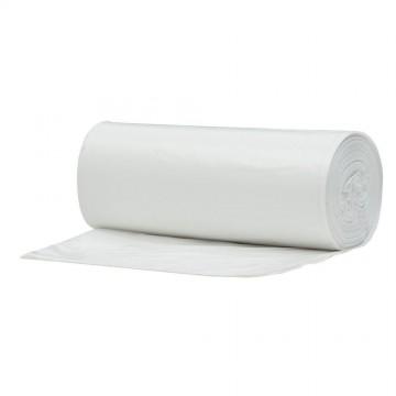 Balti šiukšlių maišai 30L, 50 vnt rulone