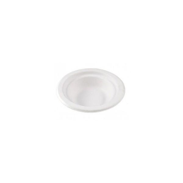 Lėkštės cukranendrių 18 cm/50vnt.