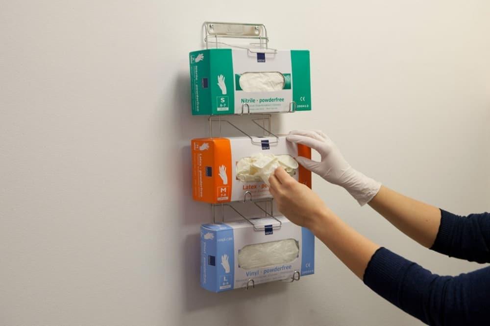 Kokios vienkartinės pirštinės yra pritaikytos medicinos įstaigoms?